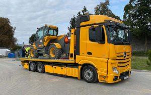 transport maszyn budowlanych Olsztyn